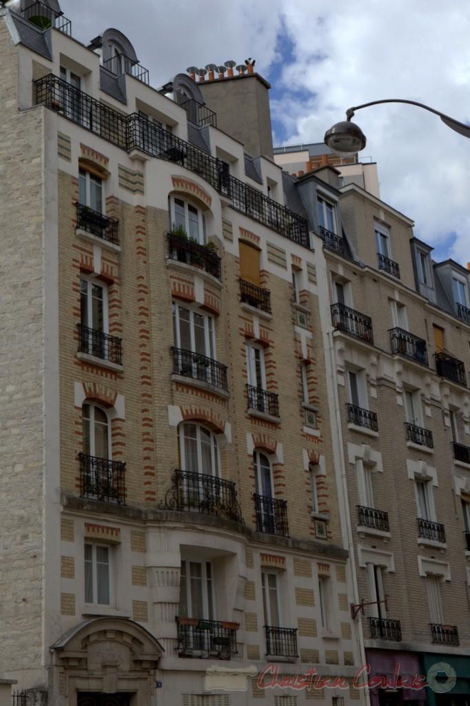 Rue des Fêtes, Paris 19ème