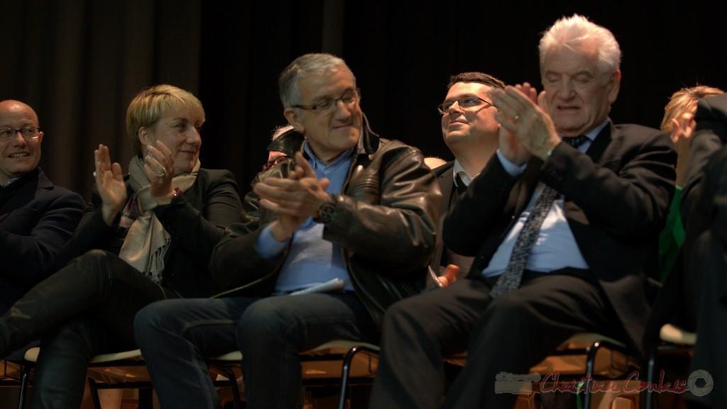 Applaudissements, Isabelle Dexpert, Bernard Castagnet, Dominique Fedieu, Philippe Madrelle.