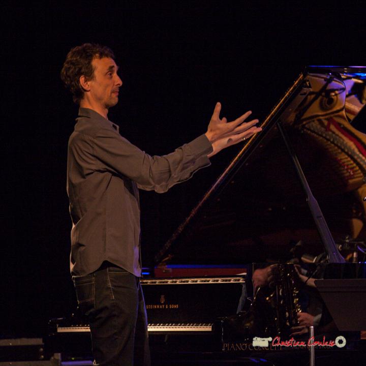5 Pierre de Bethmann, directeur & arrangeur musical. Festival JAZZ360 2019, Cénac. 07/06/2019