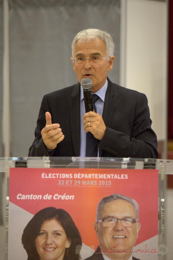 Gérard Poisbelaud, candidat remplaçant aux élections départementales