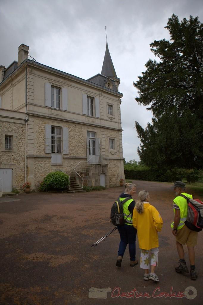 Festival JAZZ360 2015, randonnée pédestre, Château Courtade, Camblanes-et-Meynac. 14/06/2015