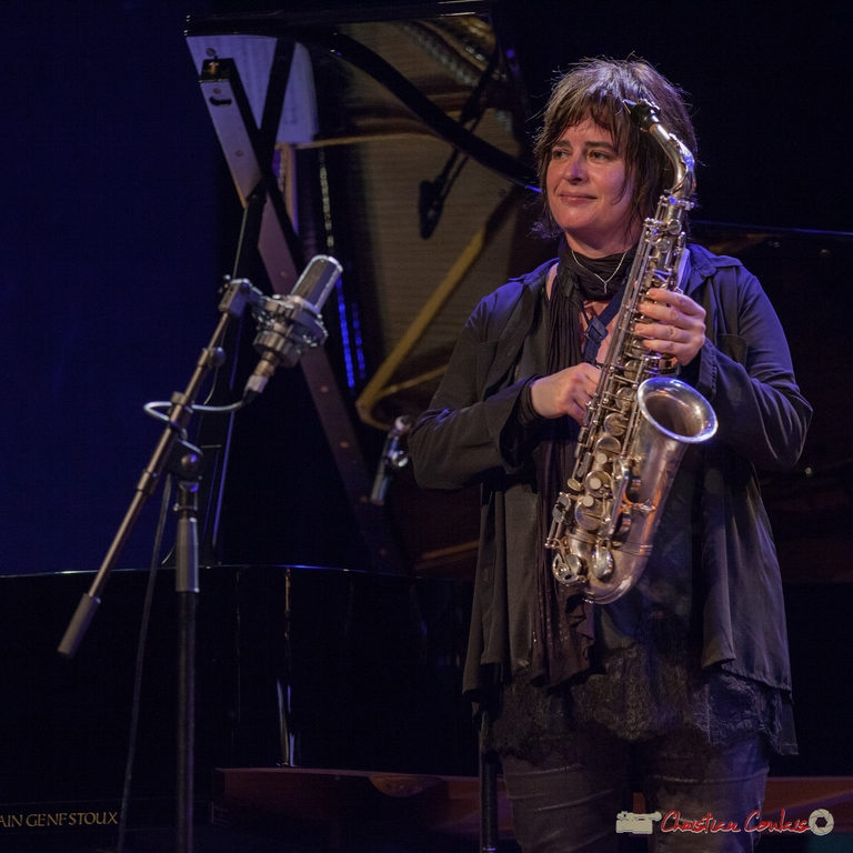 11/06/2016. Géraldine Laurent, saxophone. Festival JAZZ360