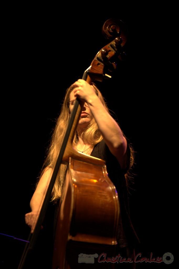 "Nolwenn Leizour; Frédéric Borey ""Lines"" Quartet, Festival JAZZ360 2012, Cénac. 08/06/2012 1/5"