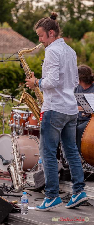 Valentin-Foulon-Balsamo; Docteur Nietzsche Quartet. Festival JAZZ360 2018, Cénac. 08/06/2018