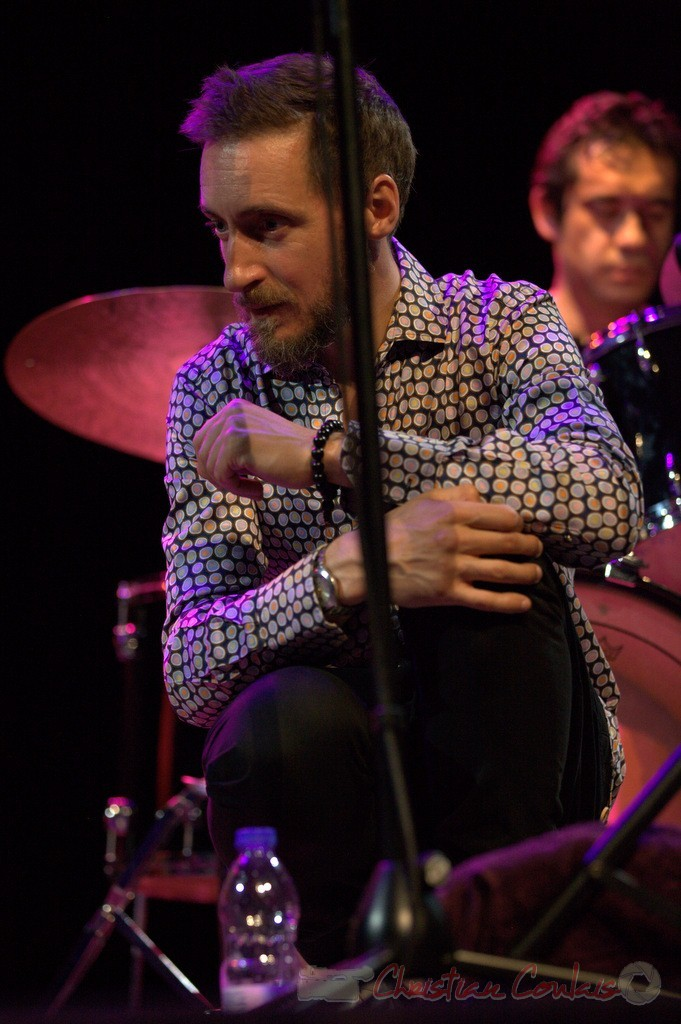 Festival JAZZ360 2015, Christophe Panzani; Jean-Claude Oleksiak Quartet, Cénac. 13/06/2015