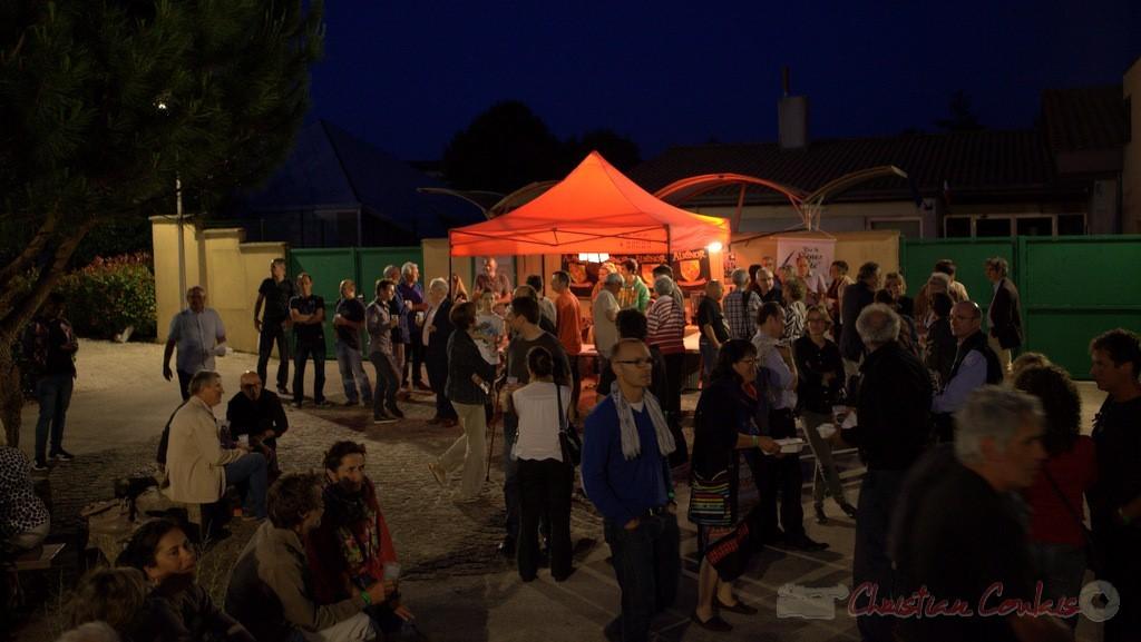 Festival JAZZ360 2015, changement de plateau entre Atrisma & Laurent Coulondre Trio
