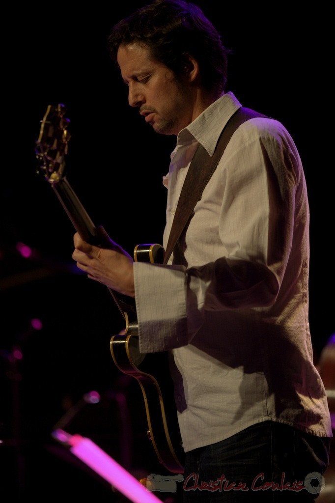 Festival JAZZ360 2015, Mickaël Felberbaum; Thomas Savy Quintet. Cénac, 13/06/2015
