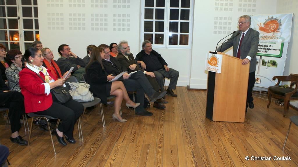 Jean-Marie Darmian reçoit le comité Cittaslow