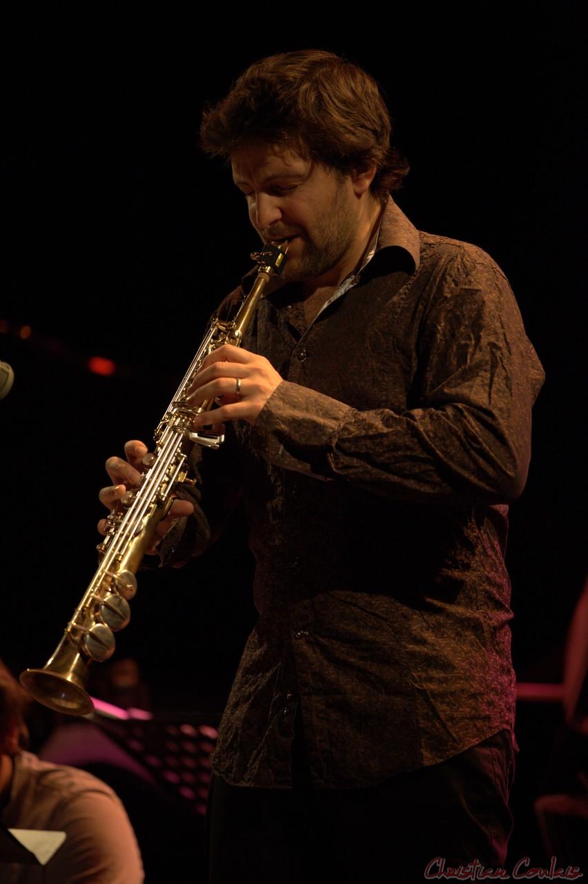 Festival JAZZ360 2014, Grégory Sallet, Anne Quillier Sextet, Cénac