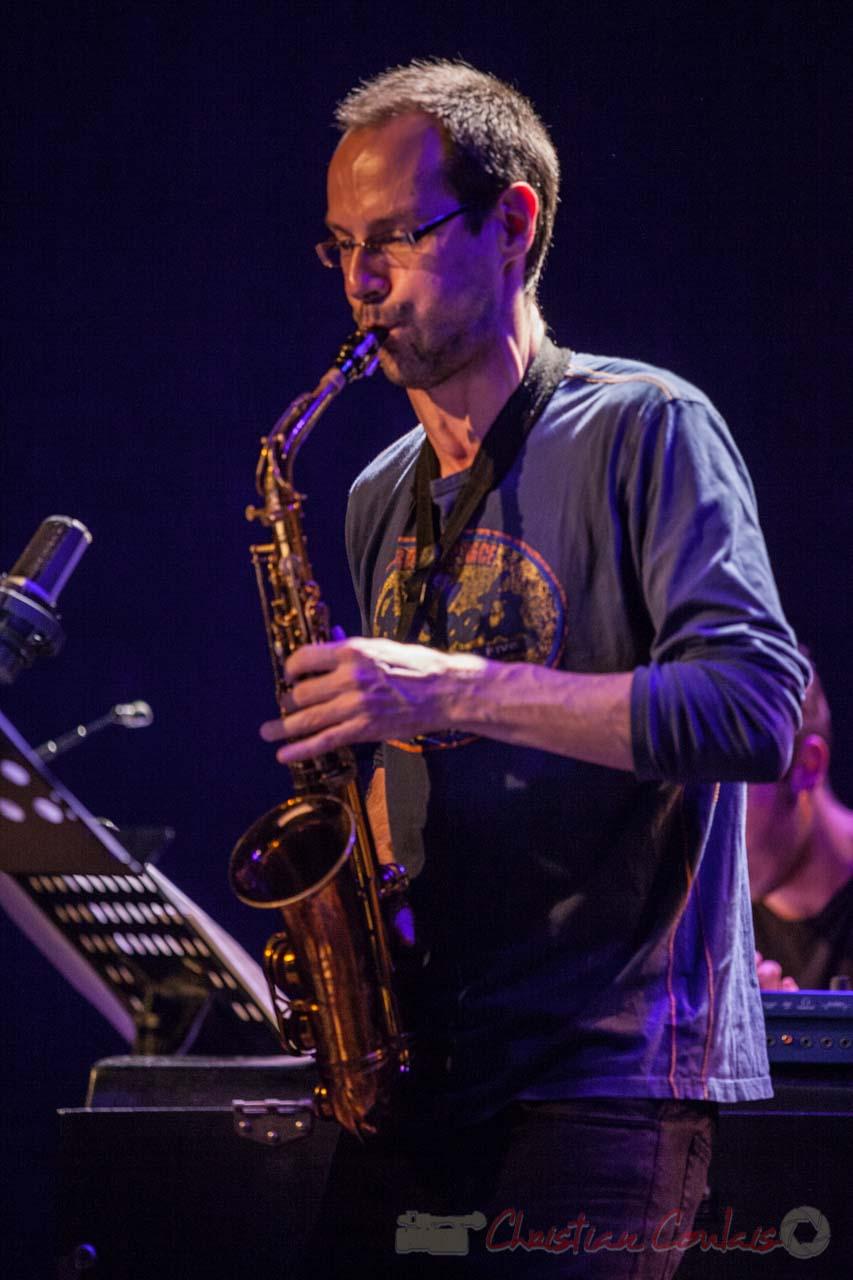 Julien Dubois, Festival JAZZ360 2016, Cénac 1/4