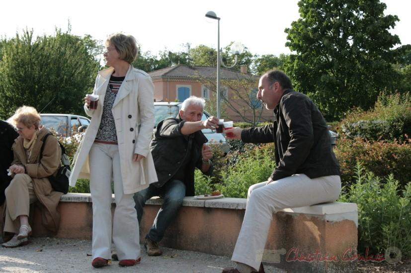 """Annie Ventoso et ses amis """"Trinquons ensemble"""". Festival JAZZ360 2010, Cénac. 15/05/2010"""