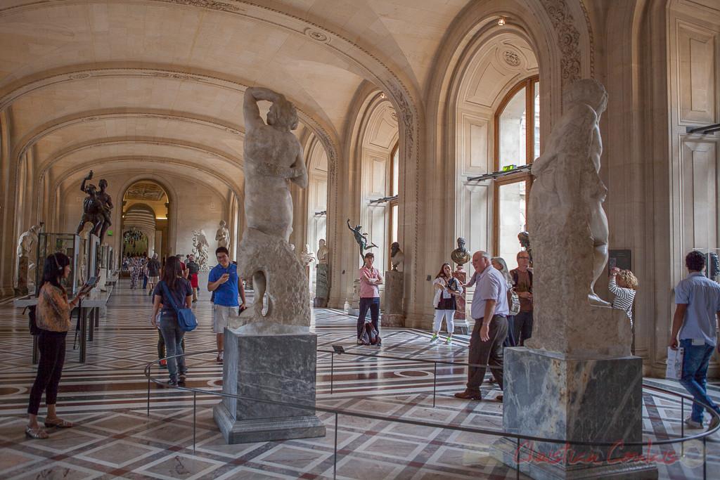 Galerie Michel-Ange, Musée du Louvre