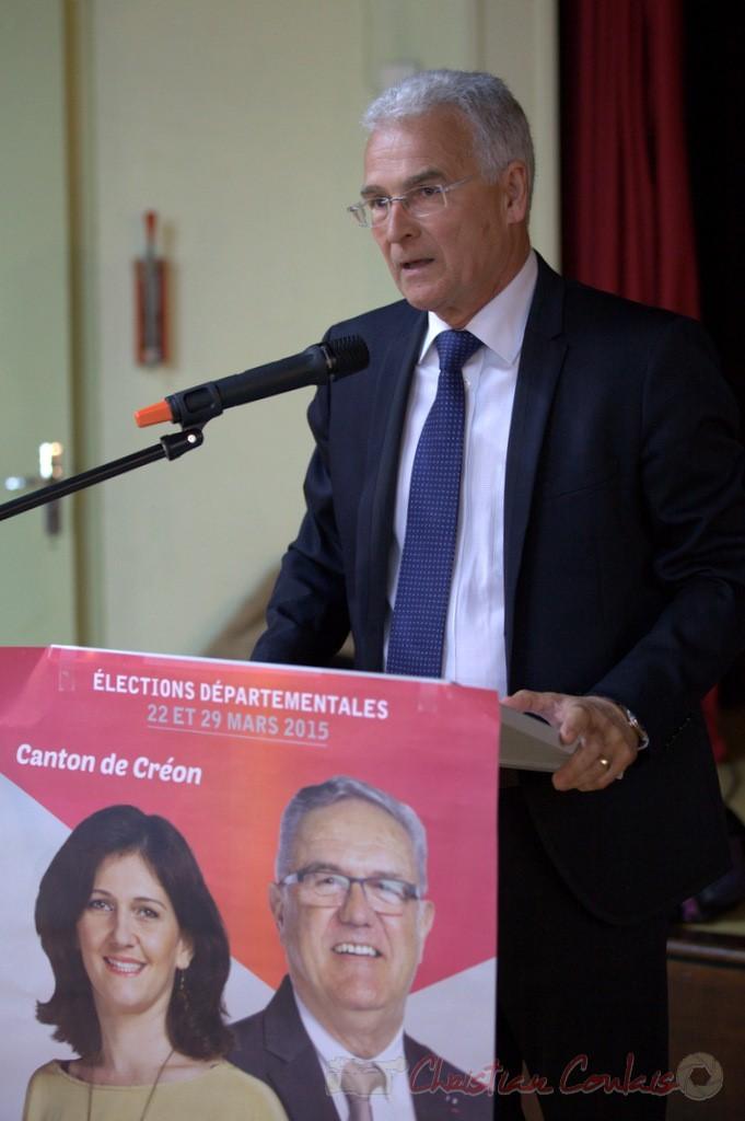 Gérard Poisbelaud, Adjoint au Maire de Tresses