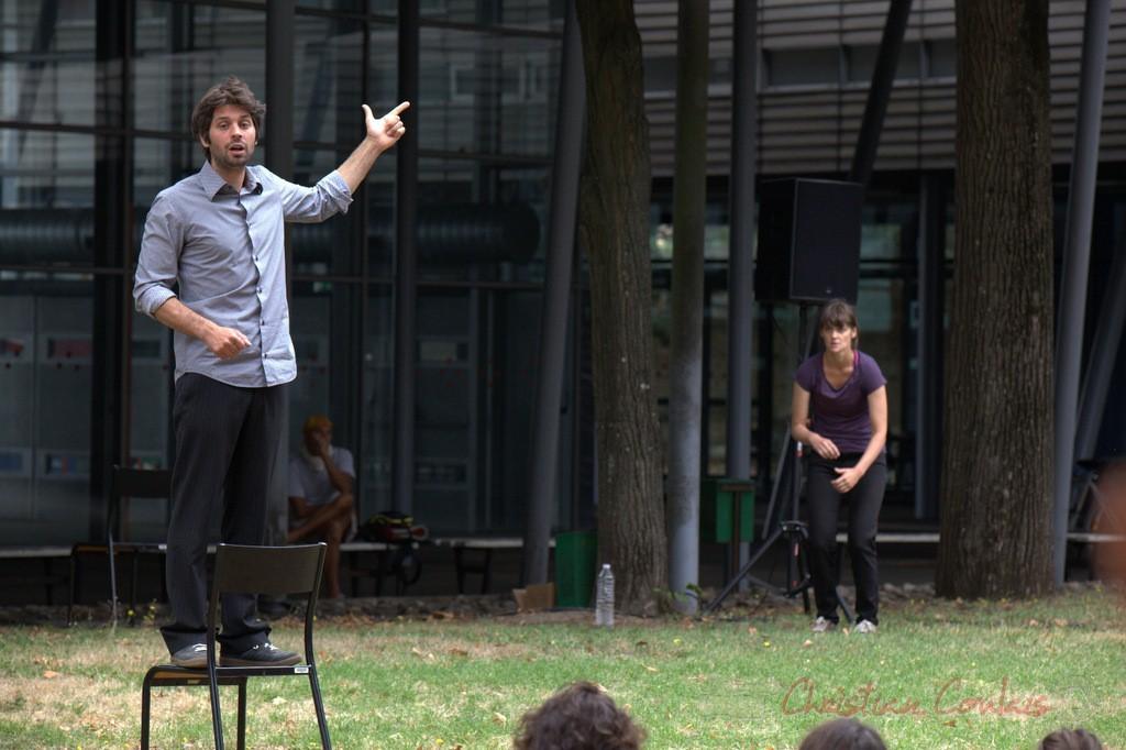 Antoine Raimondi-Chauvot, Héloïse Desfarges