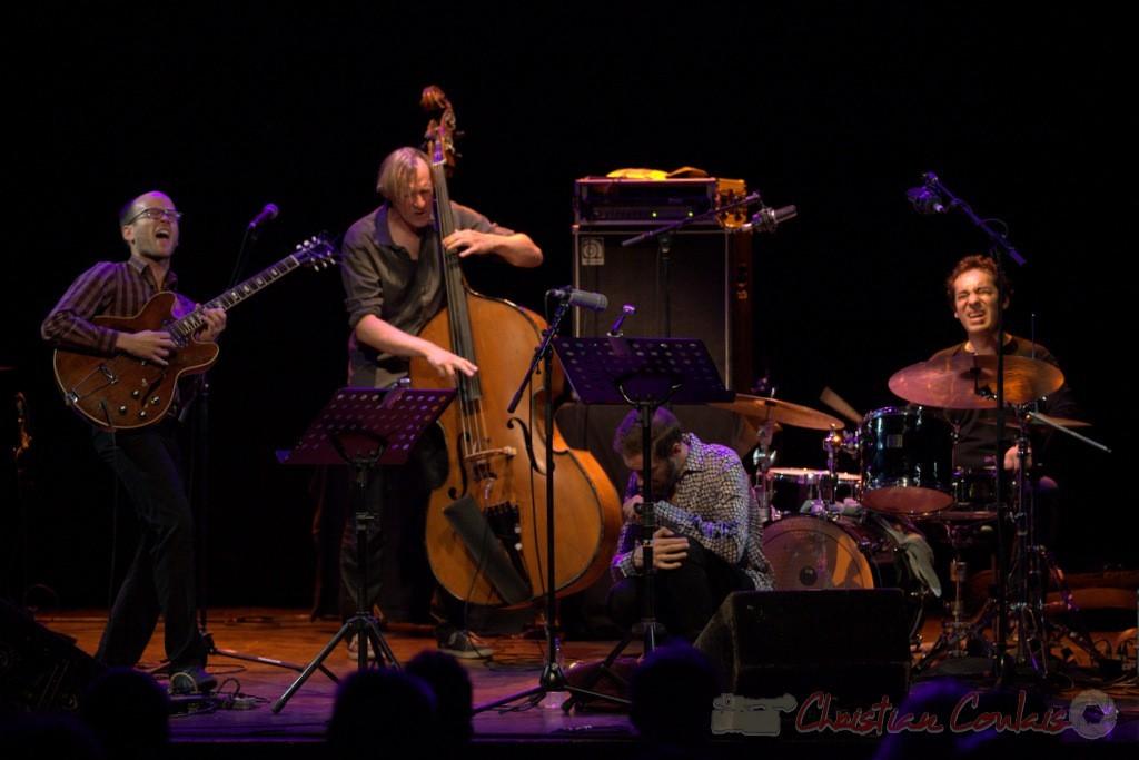 Festival JAZZ360 2015, Jean-Claude Oleksiak Quartet, Cénac. 13 juin 2015