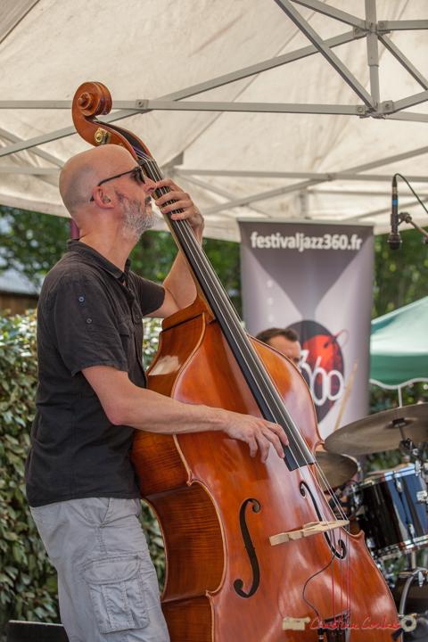 Fabrice Camboulive, Mystèretrio Quartet, Festival JAZZ360, Latresne. 11/06/2017