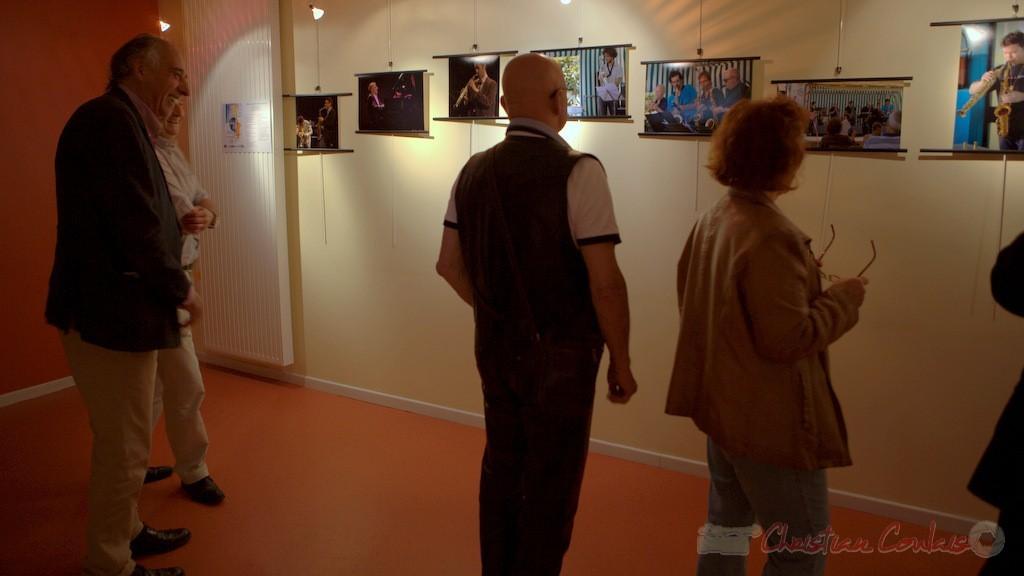 Médiathèque de Latresne, Exposition des photographies du Festival JAZZ360 2014