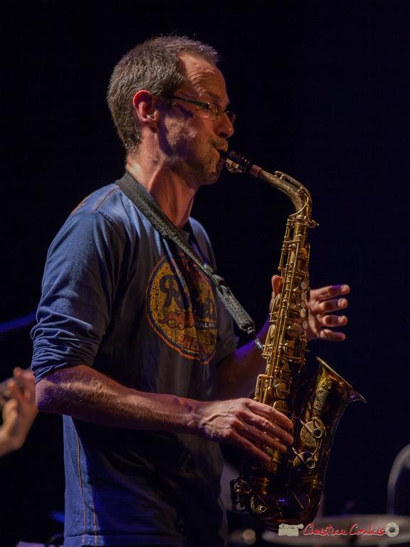 10/06/2016. Julien Dubois, saxophone, le JarDin Quartet. Festival JAZZ360