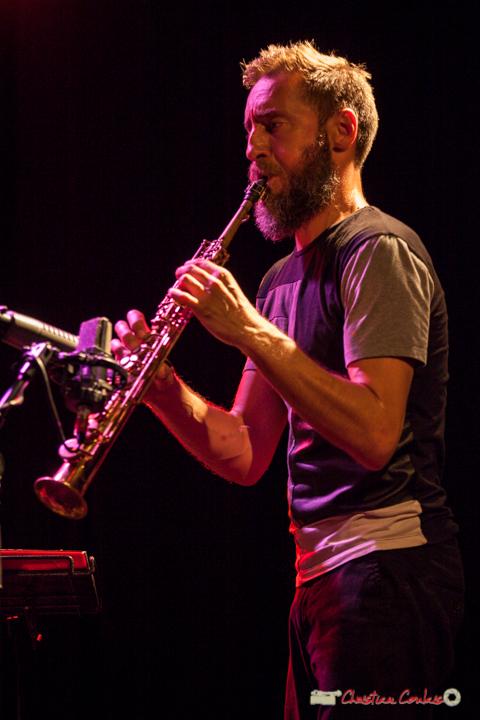 Christophe Panzani; Anne Paceo Circles. Festival JAZZ360, Cénac, 10 juin 2017
