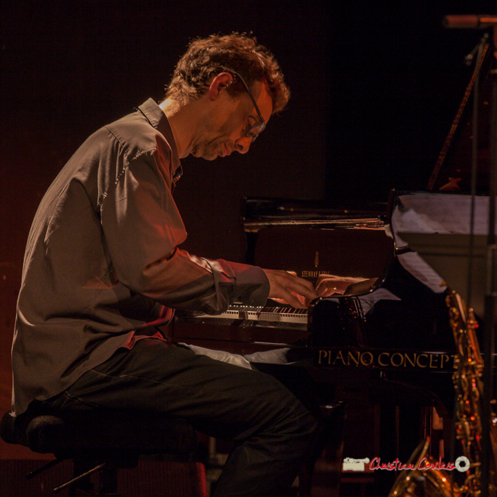 6 Pierre de Bethmann, pianiste & compositeur. Festival JAZZ360 2019, Cénac. 07/06/2019