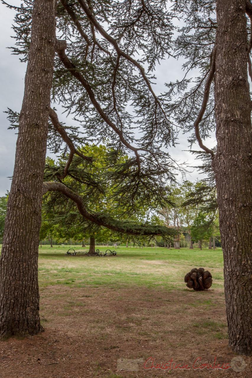 Fruits fantastiques de Marc Nucera. Prés du Goualoup, Domaine de Chaumont-sur-Loire. Mercredi 26 août 2015. Photographie © Christian Coulais