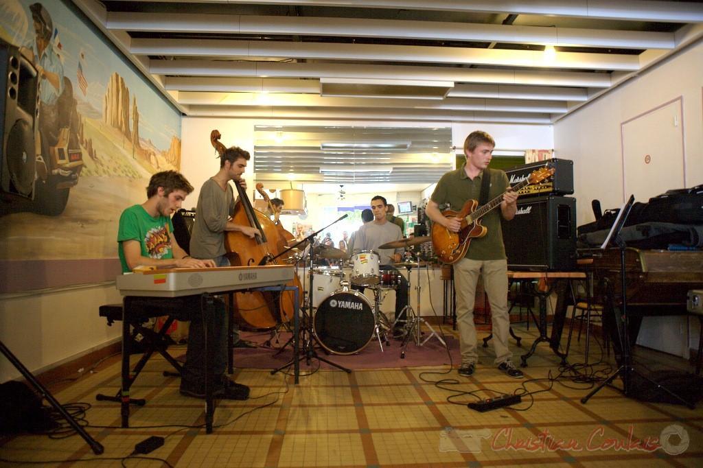 Festival JAZZ360 2012, atelier Jazz Conservatoire Jacques Thibaud, Bordeaux