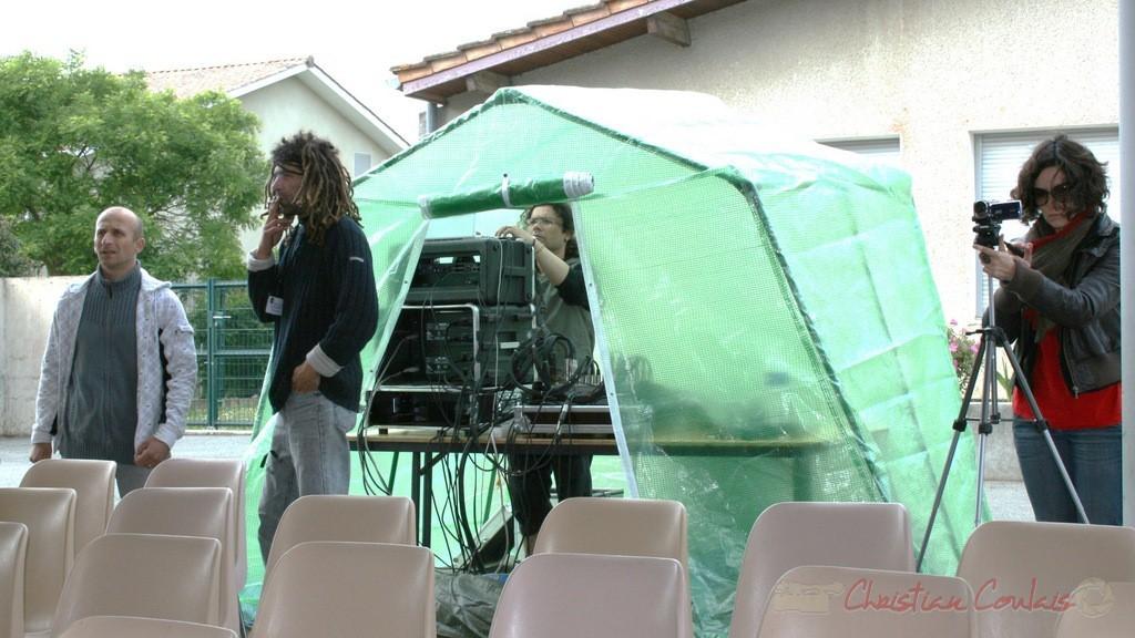 Pleuvra-t-il ? Festival JAZZ360, groupe scolaire, Cénac, mercredi 12 mai 2010