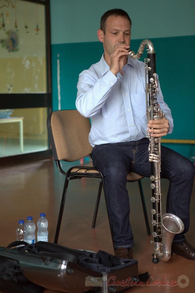 Festival JAZZ360 2015, Cénac, Thomas Savy. 13/06/2015