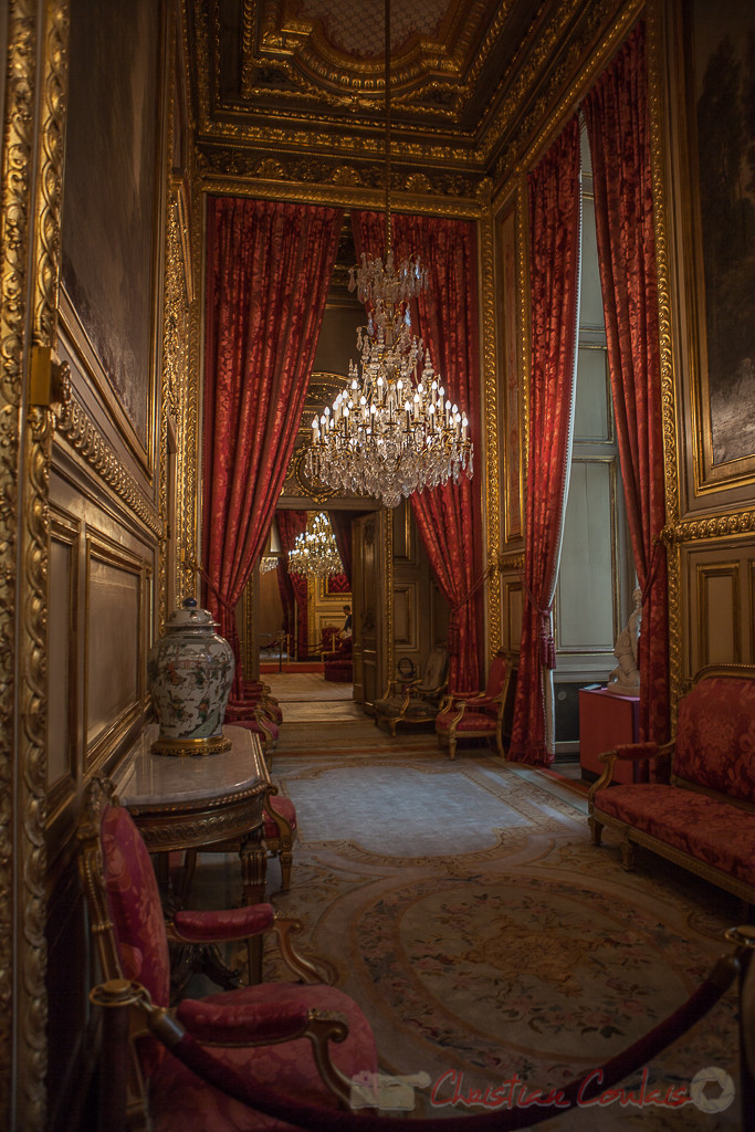 Galerie d'introduction, Appartements de Napoléon III, Musée du Louvre