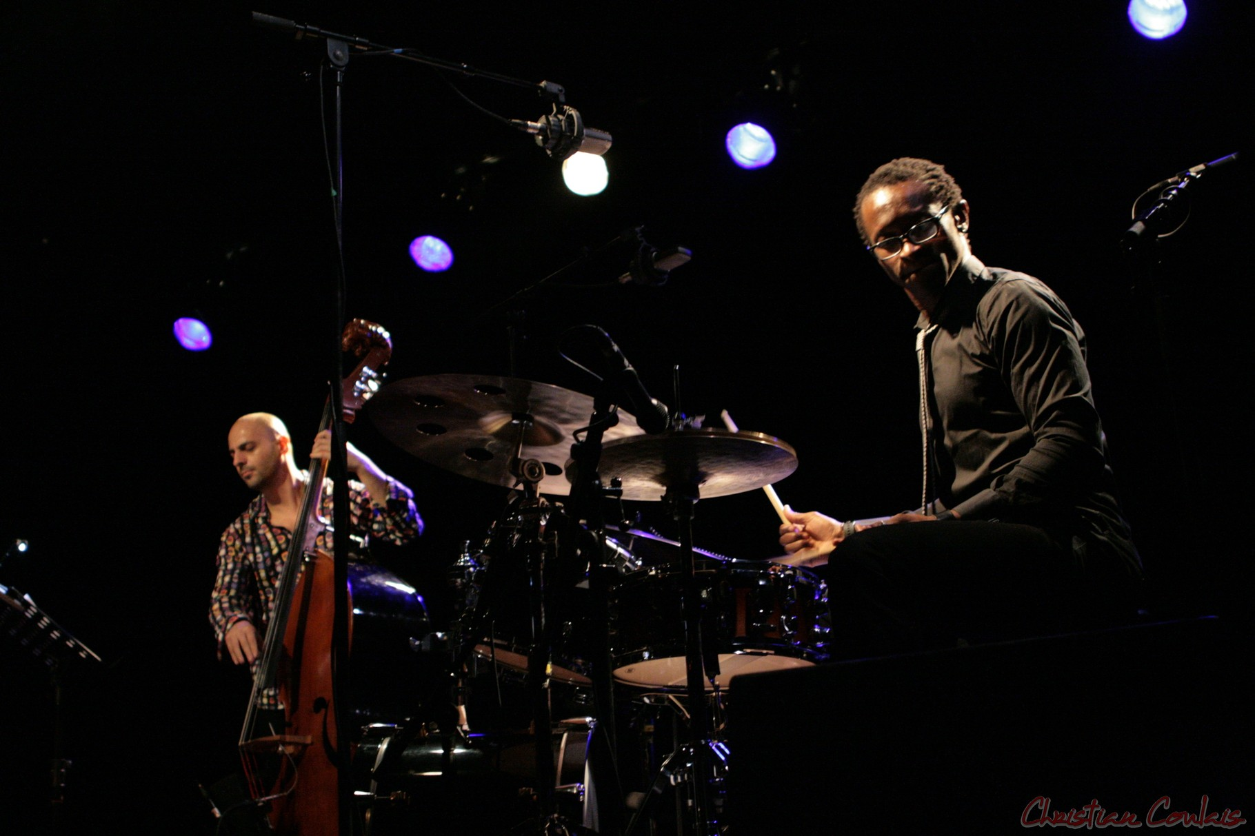 Festival JAZZ360 2011, Roger Biwandu à la batterie, Roger Biwandu Quintet, Cénac