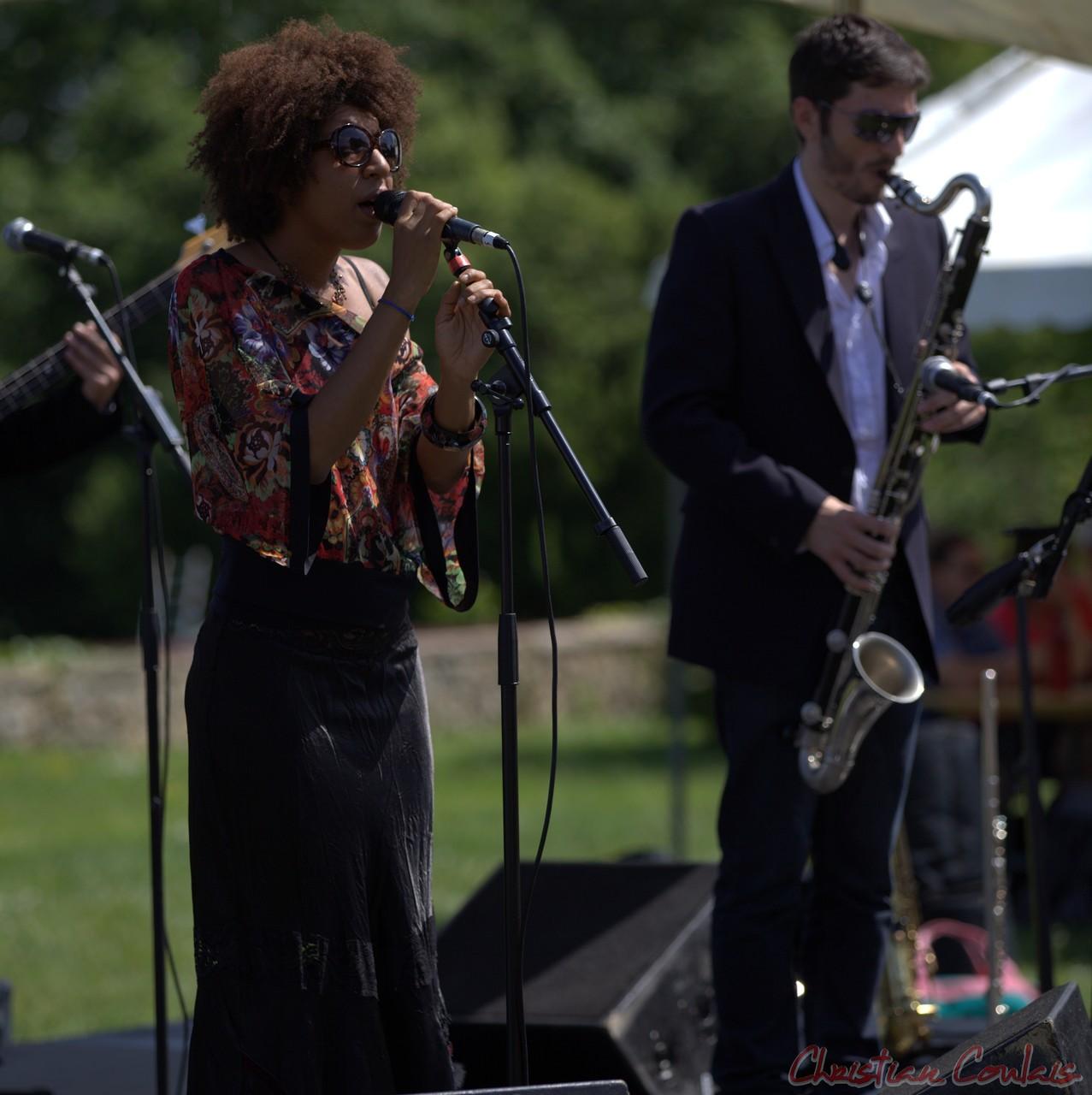 Festival JAZZ360 2014, Mayomi Moreno, François-Marie Moreau, Akoda Quintet, Quinsac