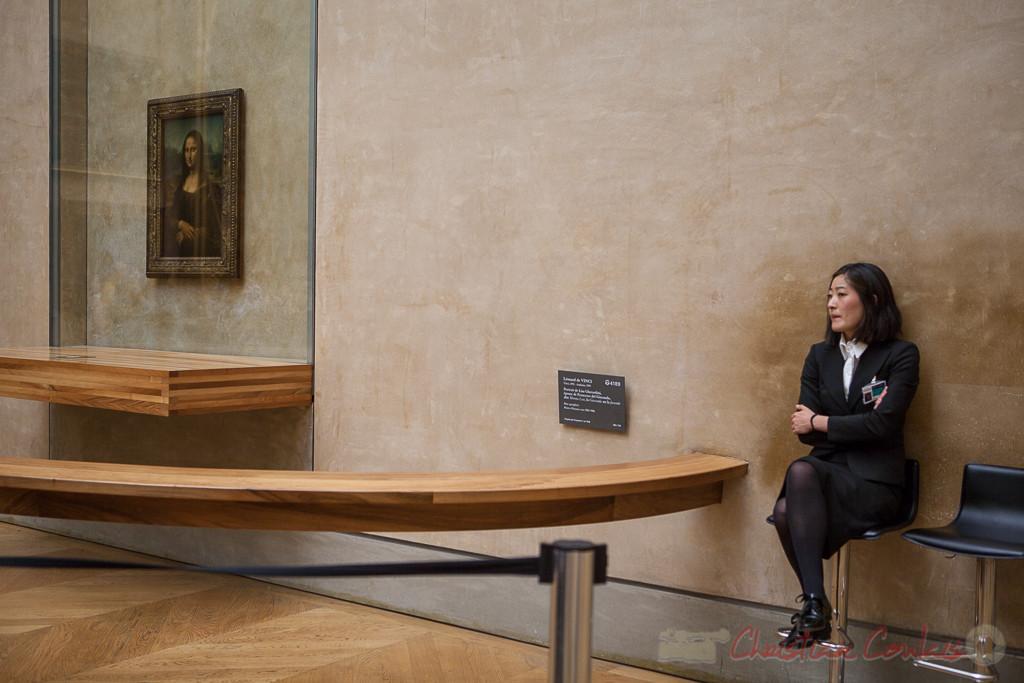 Lisa Gherardini dite Monna Lisa, la Gioconda ou la Joconde, Léonarde de Vinci