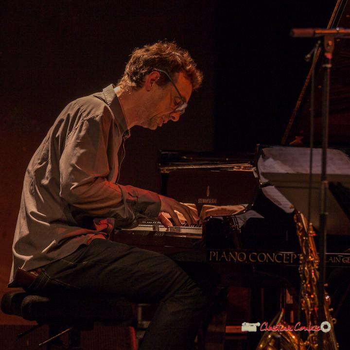 11 Pierre de Bethmann, pianiste & compositeur. Festival JAZZ360 2019, Cénac. 07/06/2019