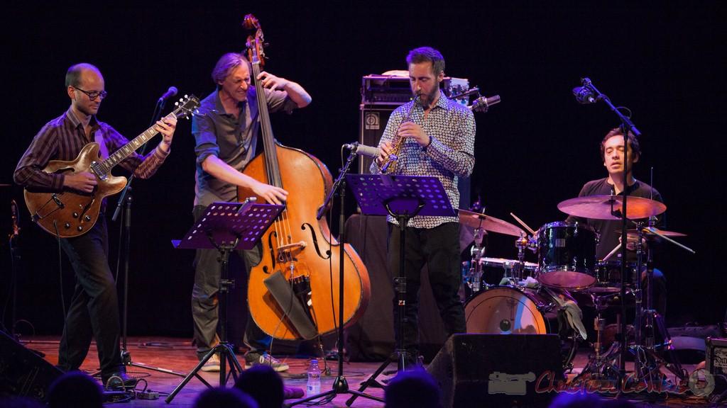 Jean-Claude Oleksiak Quartet. Festival JAZZ360 2015, Cénac