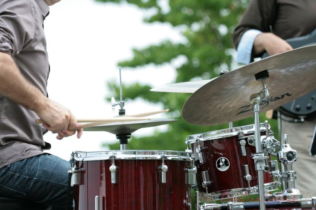 Didier Ottaviani; Philippe Bayle Trio. Festival JAZZ360, Quinsac. 05/06/2011