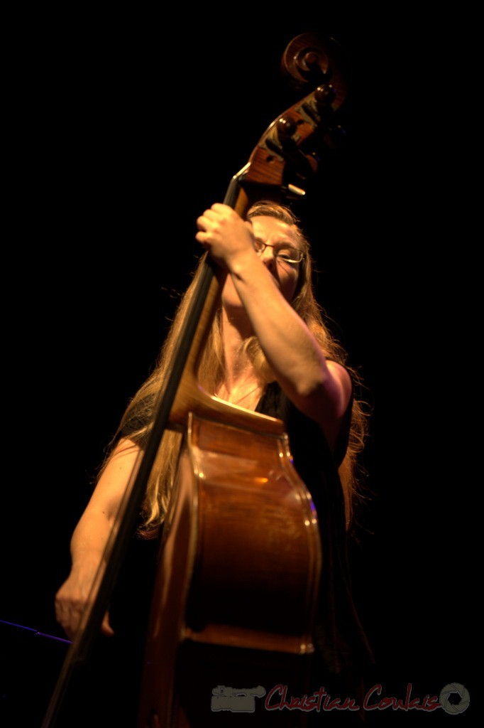 "Nolwenn Leizour; Frédéric Borey ""Lines"" Quartet, Festival JAZZ360 2012, Cénac. 08/06/2012 4/5"