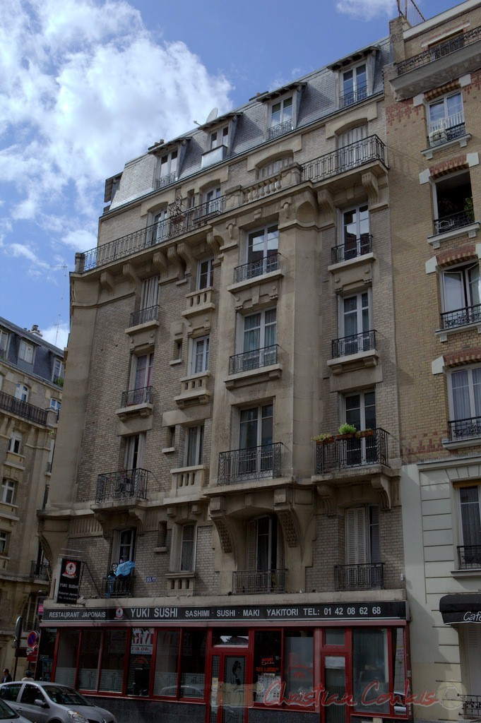 Rue Eugène Jumin, Paris 19ème
