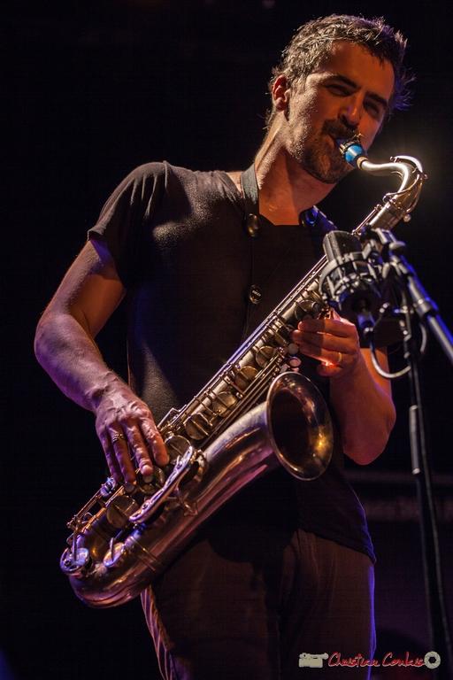 10/06/2016. Sylvain Rifflet, saxophone, Sylvain Rifflet Quartet. Festival JAZZ360