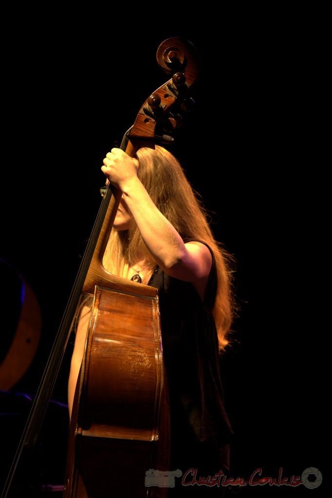 "Nolwenn Leizour; Frédéric Borey ""Lines"" Quartet, Festival JAZZ360 2012, Cénac. 08/06/2012 5/5"
