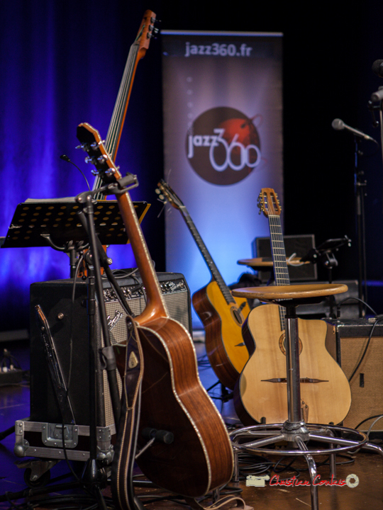 Avant concert de The Rix'tet, soirée club JAZZ360, Cénac. 05/10/2019