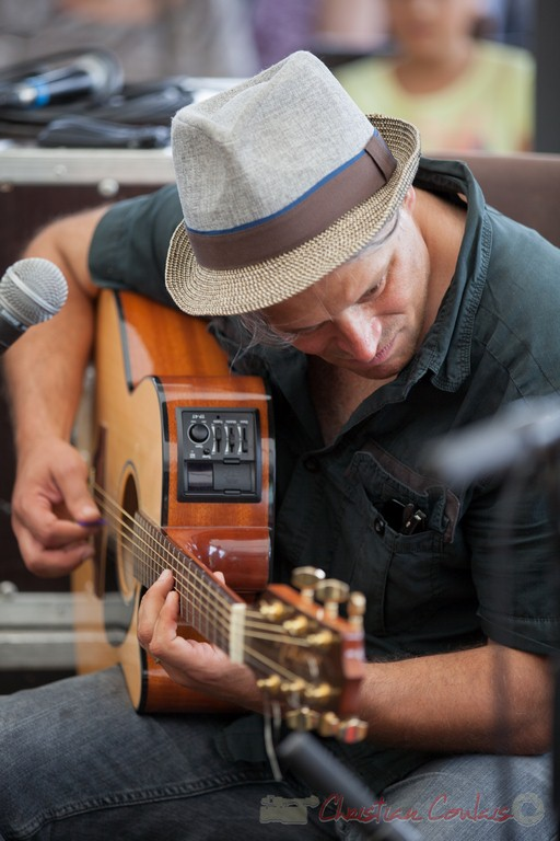 Fabrice Vieira, Peuple étincelle. Festival JAZZ360 2015, Camblanes-et-Meynac