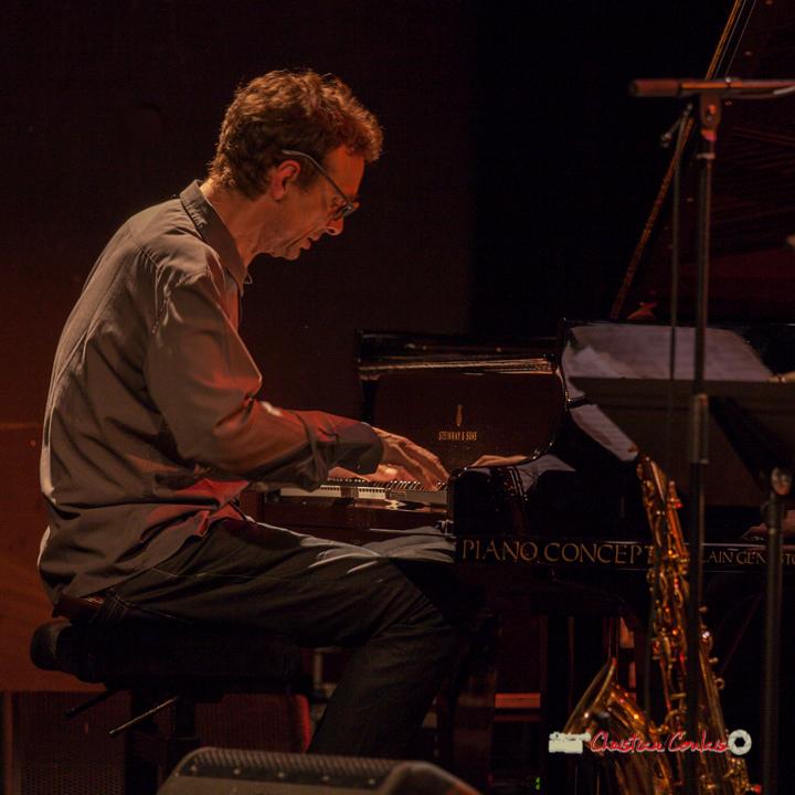 7 Pierre de Bethmann, pianiste & compositeur. Festival JAZZ360 2019, Cénac. 07/06/2019