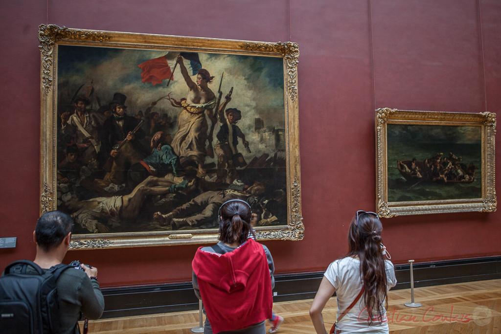 28 Juillet 1830. La Liberté guidant le peuple, Eugène Delacroix, Salle Mollien, Musée du Louvre