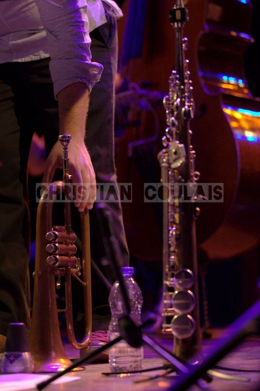 """Festival JAZZ360 2014, """"bugle et clarinette"""", Anne Quillier Sextet, Cénac. 07/06/2014"""