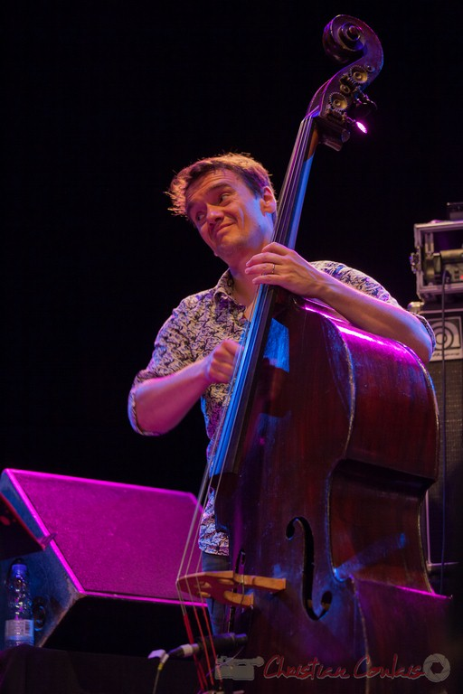 Stéphane Kérécki, Thomas Savy Quintet. Festival JAZZ360 2015, Cénac