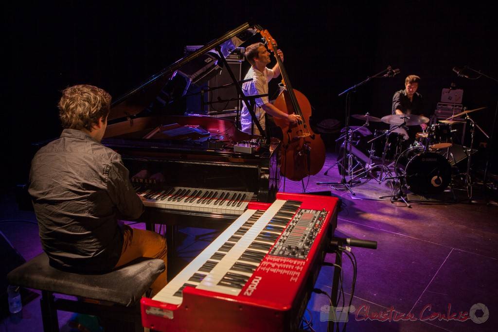Laurent Coulondre trio. Festival JAZZ360 2015, Cénac