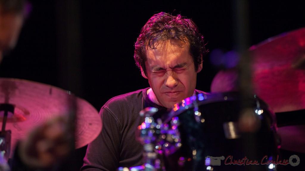 Antoine Paganotti, Jean-Claude Oleksiak Quartet. Festival JAZZ360 2015, Cénac