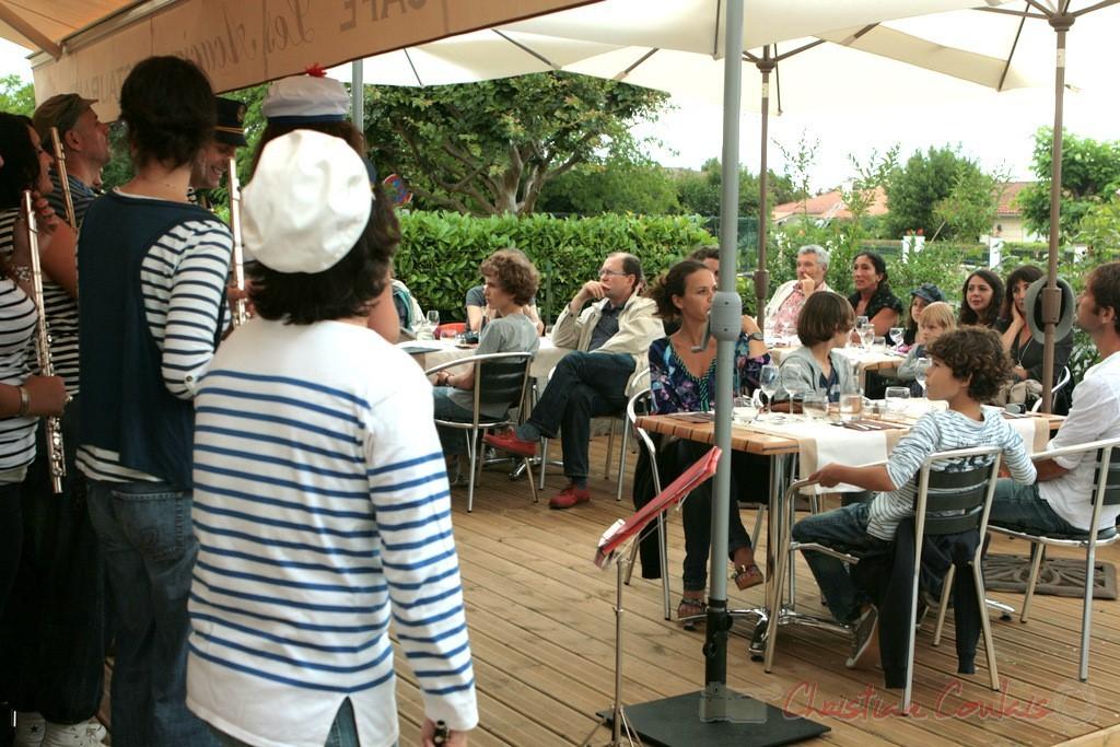 Souper Jazz au restaurant les Acacias, Cénac. Festival JAZZ360 2011. 04/06/2011
