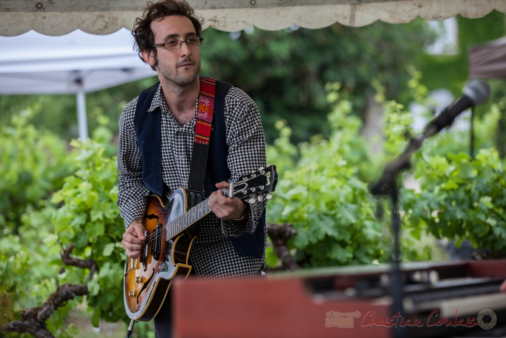 Charlie Dufau, Electric Boots. Festival JAZZ360 2015, Quinsac