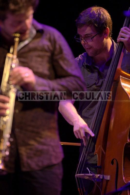 Festival JAZZ360 2014, Michel Molines; Anne Quillier Sextet, Cénac. 07/06/2014